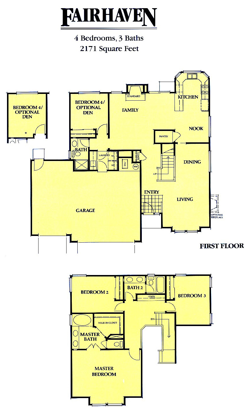 Avondale floor plans livermore homes ca Avondale house plan