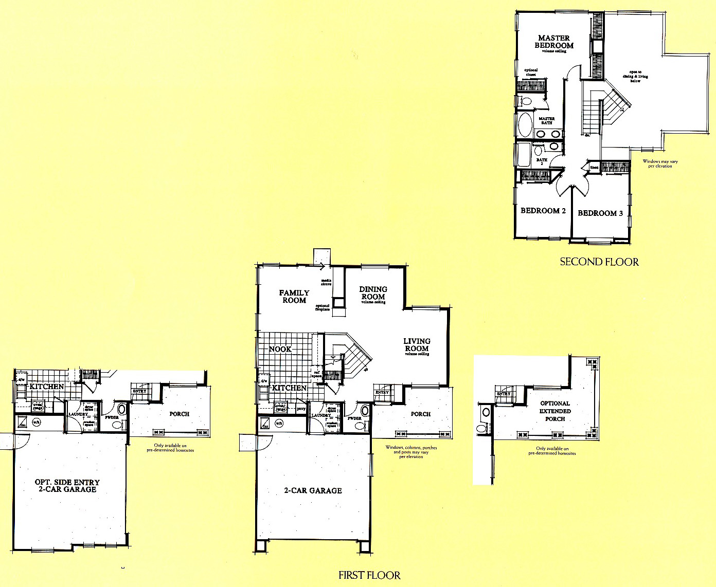 California mountain view floor plans livermore homes ca for Mountain view floor plans