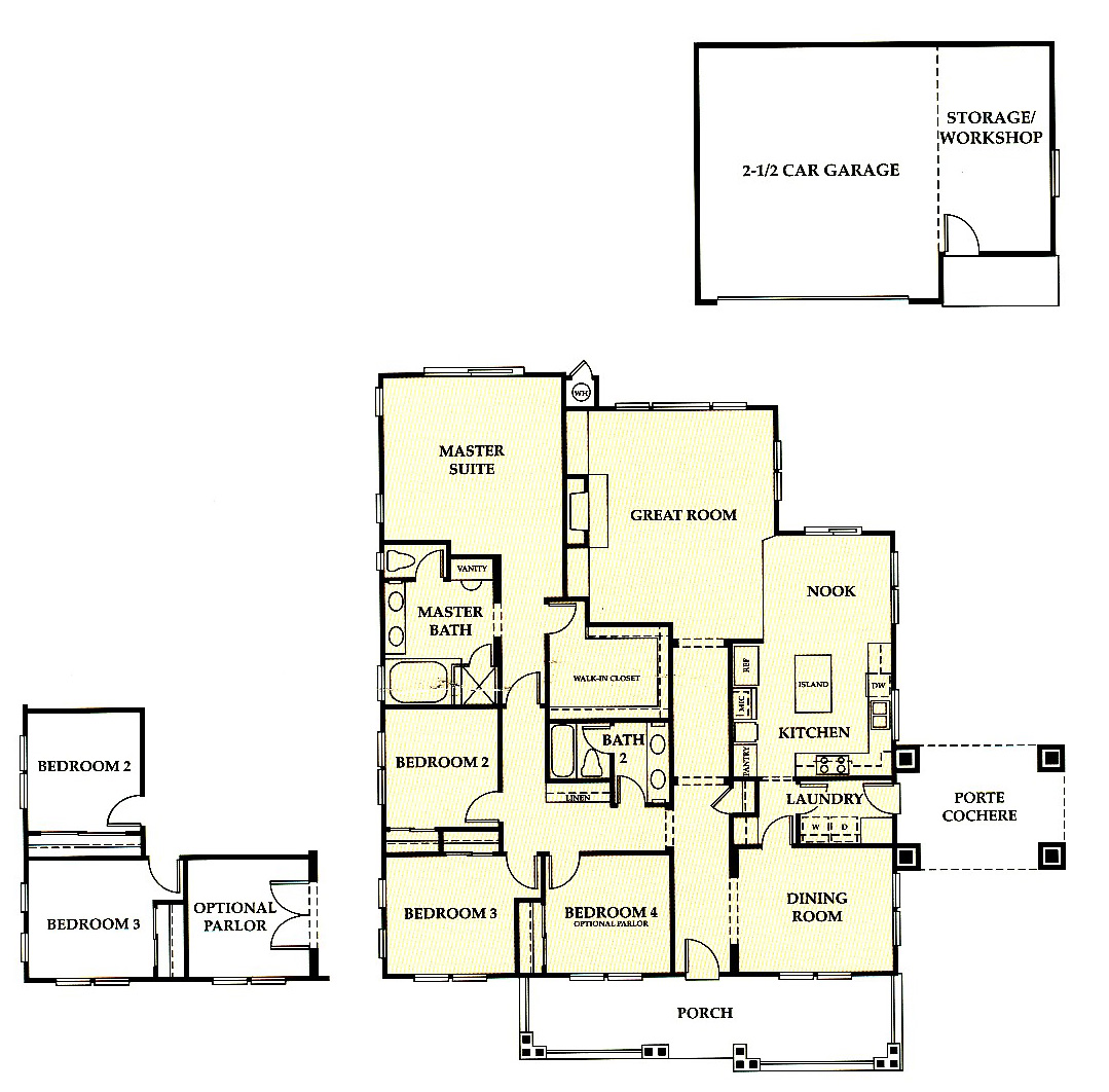 Dunsmuir Floor Plans Livermore Homes Ca
