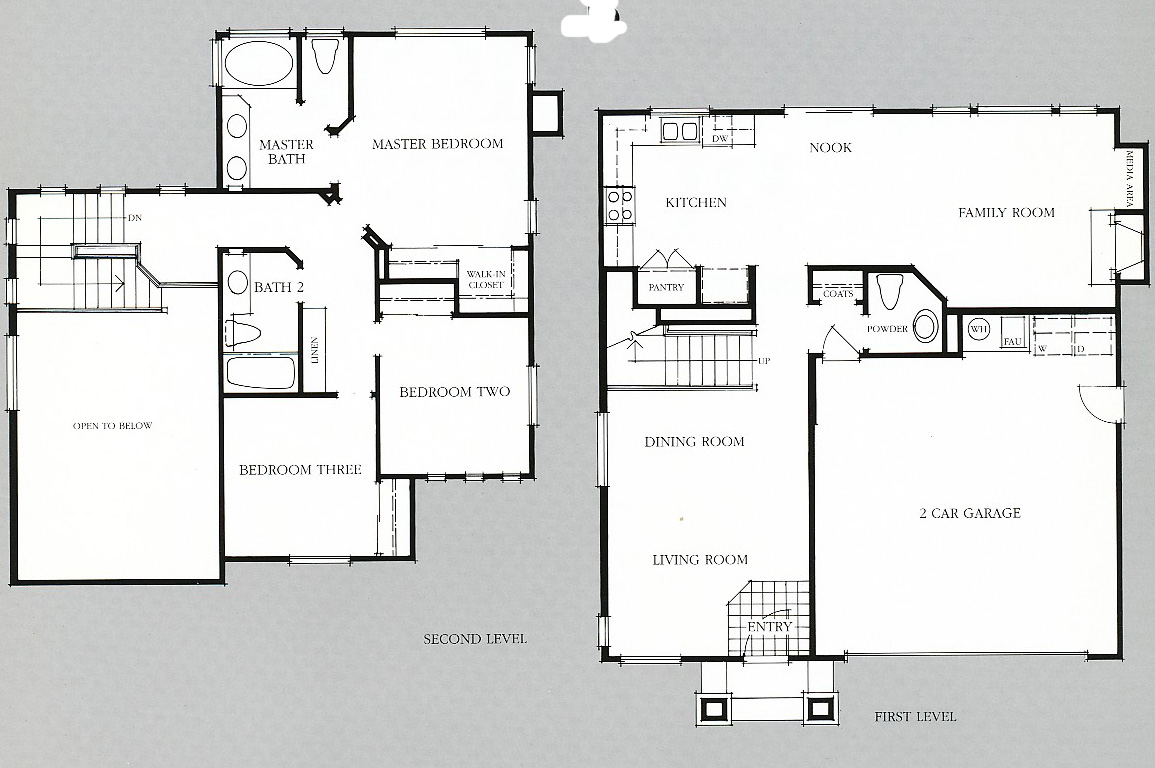 Sycamore place floor plans pleasanton homes ca Place builders floor plans